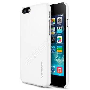 Чехол-накладка для iPhone 6/6s - SGP Thin Fit - Smooth White (SGP10937) - фото 1