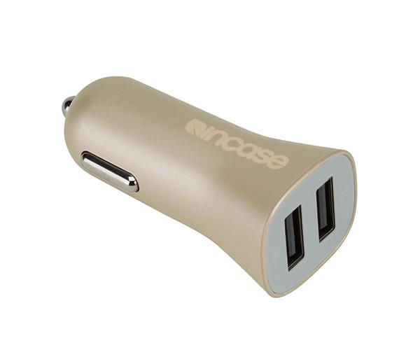 Автомобильное зарядное устройство Incase High Speed Dual Car Charger - Gold (CL90038)