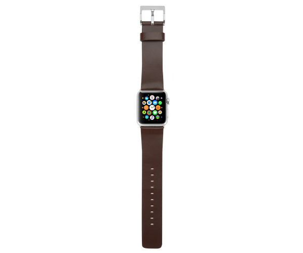 Ремешок Incase Leather Band для Apple Watch 38mm - Brown (INAW10010-BRW)