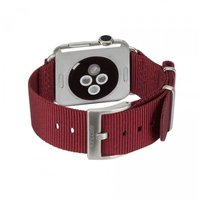 Ремешок для Apple Watch 38/40mm - Incase Nylon Nato Band - Deep Red (INAW10011-DRD)