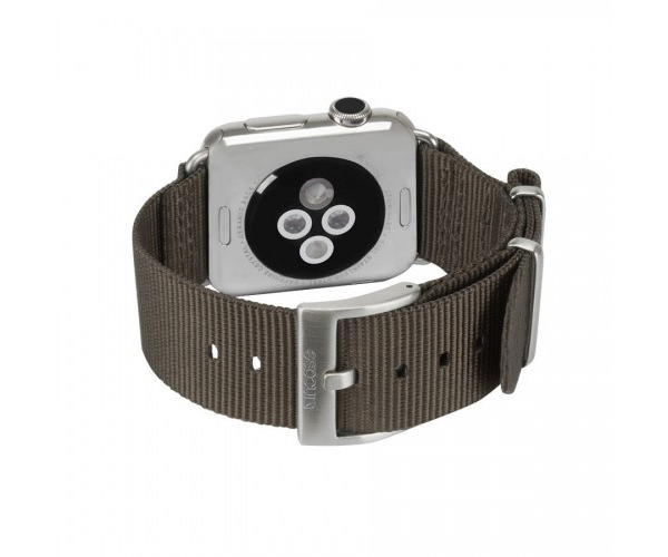 Ремешок Incase Nylon Nato Band для Apple Watch 38mm - Anthracite (INAW10011-ANT)