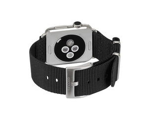 Ремешок Incase Nylon Nato Band для Apple Watch 38mm - Black (INAW10011-BLK)