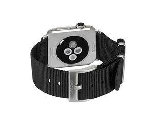 Ремешок Incase Nylon Nato Band для Apple Watch 38mm - Black (INAW10011-BLK)