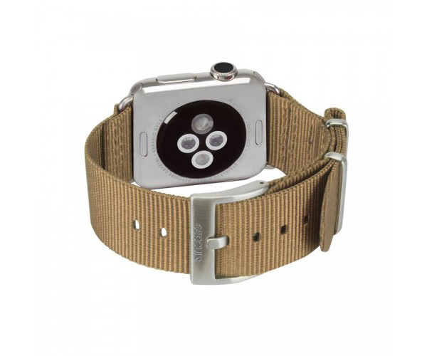 Ремешок Incase Nylon Nato Band для Apple Watch 38mm - Bronze (INAW10011-BRZ)