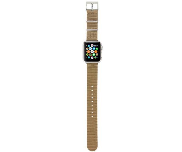 Ремешок Incase Nylon Nato Band для Apple Watch 42mm - Bronze (INAW10014-BRZ)