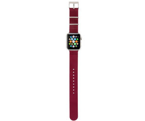 Ремешок Incase Nylon Nato Band для Apple Watch 42mm - Deep Red (INAW10014-DRD) - фото 1