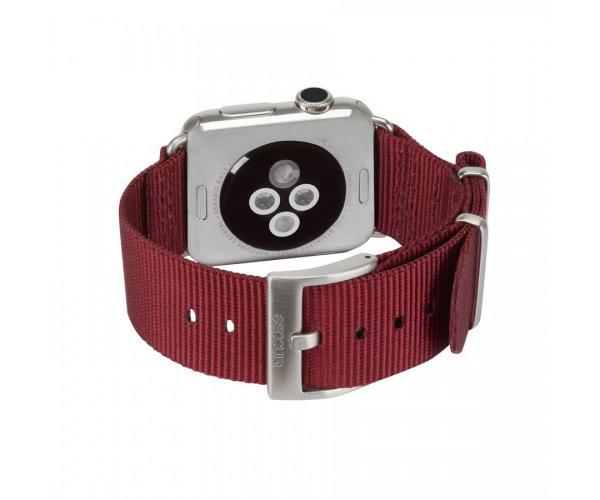 Ремешок Incase Nylon Nato Band для Apple Watch 42mm - Deep Red (INAW10014-DRD)