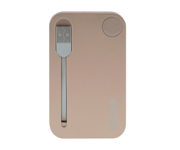 Внешний аккумулятор Incase Portable Integrated Power 2500 mAh - Gold (INPW10032-GLD)