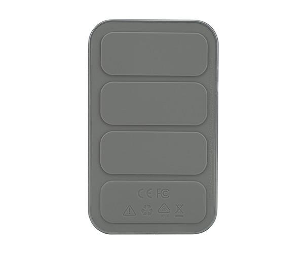 Внешний аккумулятор Incase Portable Integrated Power 2500 mAh - Metallic Gray (INPW10032-MGY)