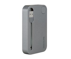 Внешний аккумулятор Incase Portable Integrated Power 2500 mAh - Metallic Gray (INPW10032-MGY) - фото 3