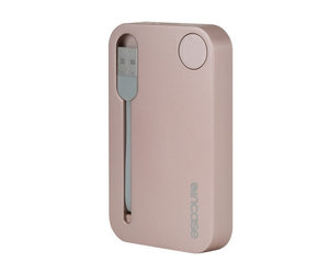 Внешний аккумулятор Incase Portable Integrated Power 2500 mAh - Rose Gold (INPW10032-RGD) - фото 2