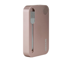Внешний аккумулятор Incase Portable Integrated Power 2500 mAh - Rose Gold (INPW10032-RGD) - фото 3