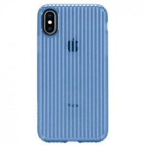 Чехол-накладка для iPhone X - Incase Protective Guard Cover - Powder Blue (INPH190380-PBL)