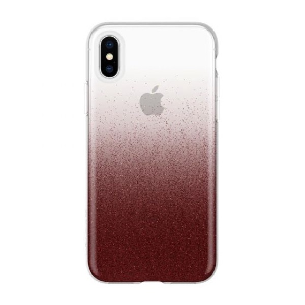 Чехол-накладка для iPhone XS Max - Incipio Design Series Classic - Cranberry Sparkler