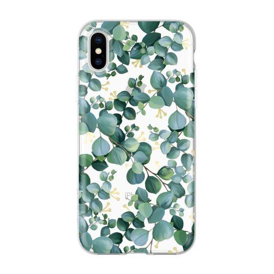 Чехол-накладка для iPhone Xs - Incipio Design Series Classic - Eucalyptus
