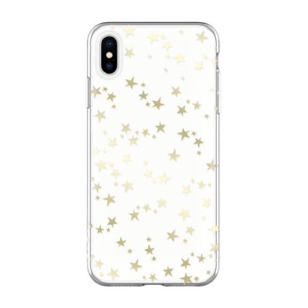 Чехол-накладка для iPhone Xs - Incipio Design Series Classic - Stars