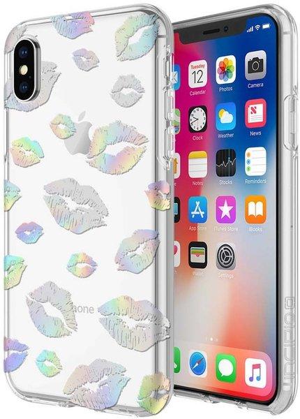 Чехол Incipio Design Series for iPhone Xs - Holographic Kisses IPH-1651-KISS