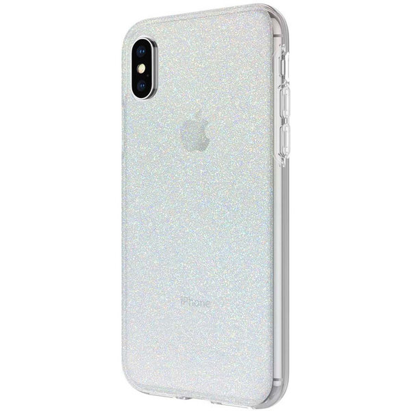 Чехол Incipio Design Series for iPhone Xs - Iridescent White Glitter IPH-1651-WTG