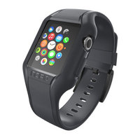 Ремешок Incipio NGP Strap для Apple Watch 42mm - Smoke (WBND-012-SMK)