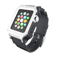 Ремешок Incipio Octane Strap для Apple Watch 42mm - White/Grey (WBND-017-WHTGRY)