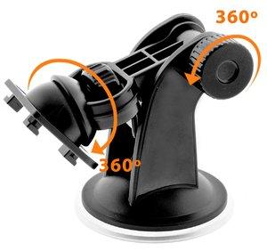 iOttie Easy One Touch (Black) - автодержатель для iPhone (HLCRIO102) - фото 2