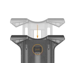 Автомобильный держатель iOttie Easy Smart Tap 2 Mount (HLCRIO141) - фото 3