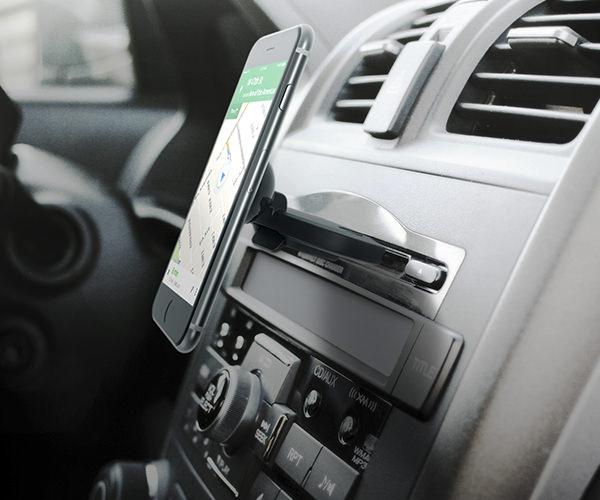 Автомобильный держатель iOttie iTap Car Mount Magnetic CD Slot Holder (HLCRIO152)