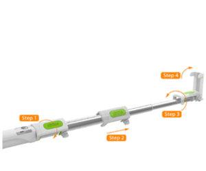 Селфи-монопод iOttie MiGo Selfie Stick - White (HLMPIO110WH) - фото 4