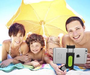 Селфи-монопод iOttie MiGo Selfie Stick - Black (HLMPIO110BK) - фото 1