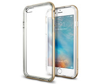 Чехол-накладка для iPhone 6/6s - Spigen Neo Hybrid EX - Champagne Gold (SGP11624)
