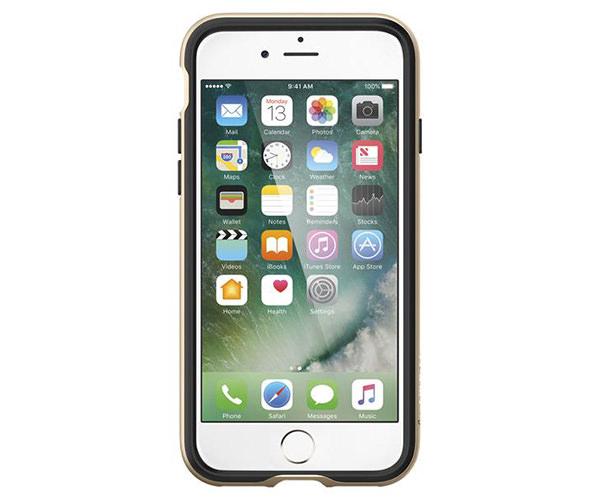 Чехол-накладка для  iPhone 7/8 - Spigen Neo Hybrid - Champagne Gold (SGP-042CS20675)