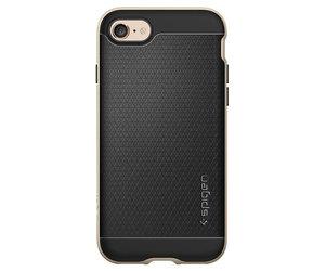 Чехол-накладка для  iPhone 7/8/SE - Spigen Neo Hybrid - Champagne Gold (SGP-042CS20675) - фото 4