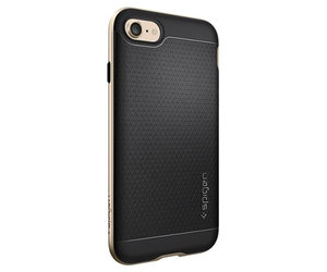 Чехол-накладка для  iPhone 7/8/SE - Spigen Neo Hybrid - Champagne Gold (SGP-042CS20675) - фото 5