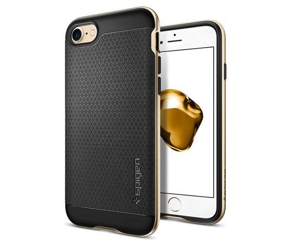 Чехол-накладка для  iPhone 7/8/SE - Spigen Neo Hybrid - Champagne Gold (SGP-042CS20675)