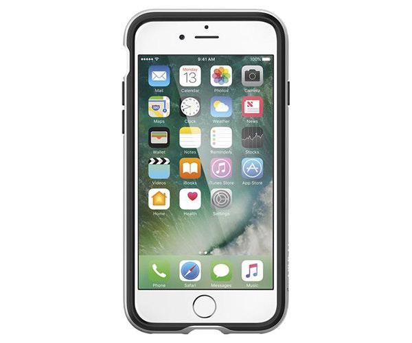 Чехол-накладка для  iPhone 7/8/SE - Spigen Neo Hybrid - Satin Silver (SGP-042CS20520)