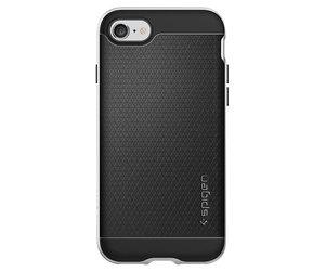 Чехол-накладка для  iPhone 7/8/SE - Spigen Neo Hybrid - Satin Silver (SGP-042CS20520) - фото 4