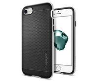 Чехол-накладка для  iPhone 7 - Spigen Neo Hybrid - Satin Silver (SGP-042CS20520)