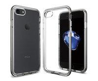 Чехол-накладка для  iPhone 7 - Spigen Neo Hybrid Crystal - Gun Metal (SGP-042CS20522)