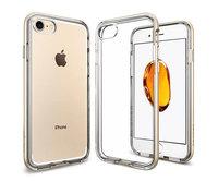 Чехол-накладка для  iPhone 7 - Spigen Neo Hybrid Crystal - Champagne Gold (SGP-042CS20521)