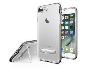 Чехол-накладка для  iPhone 7 Plus/8 Plus - Spigen Crystal Hybrid - Gun Metal (SGP-043CS20508) - фото 1