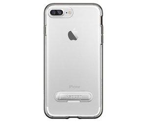 Чехол-накладка для  iPhone 7 Plus/8 Plus - Spigen Crystal Hybrid - Gun Metal (SGP-043CS20508) - фото 2