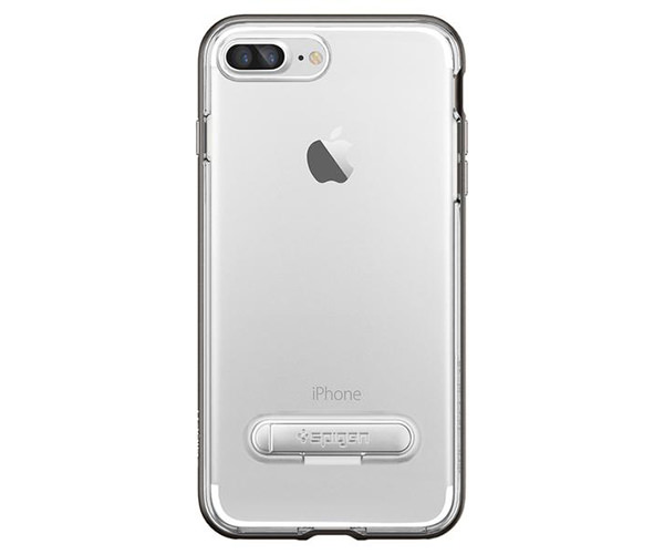 Чехол-накладка для  iPhone 7 Plus/8 Plus - Spigen Crystal Hybrid - Gun Metal (SGP-043CS20508)