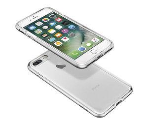 Чехол-накладка для  iPhone 7 Plus/8 Plus - Spigen Neo Hybrid Crystal - Satin Silver (SGP-043CS20684) - фото 3