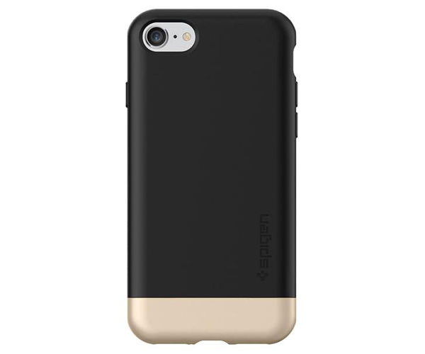 Чехол-накладка для  iPhone 7/8/SE - Spigen Style Armor - Black (SGP-042CS20516)
