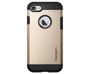 Чехол-накладка для  iPhone 7/8/SE - Spigen Tough Armor - Champagne Gold (SGP-042CS20490) - фото 2