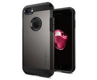 Чехол-накладка для  iPhone 7 - Spigen Tough Armor - Gun Metal (SGP-042CS20489)