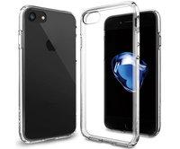 Чехол-накладка для  iPhone 7 - Spigen Ultra Hybrid - Crystal Clear (SGP-042CS20443)