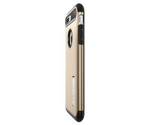 Чехол-накладка для  iPhone 7 Plus/8 Plus - Spigen Slim Armor - Champagne Gold (SGP-043CS20310) - фото 4