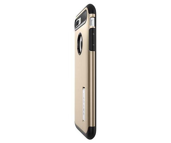 Чехол-накладка для  iPhone 7 Plus/8 Plus - Spigen Slim Armor - Champagne Gold (SGP-043CS20310)