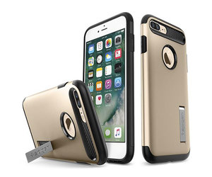 Чехол-накладка для  iPhone 7 Plus/8 Plus - Spigen Slim Armor - Champagne Gold (SGP-043CS20310) - фото 1